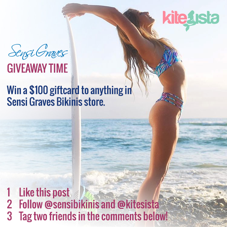 Win $100 of Swimwear with the Sensi Graves End of Year Giveaway