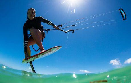 Karolina Winskowska - Kitefoiling - KiteSista