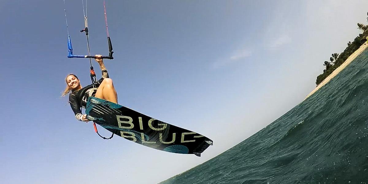 Big Blue Board - KiteSista