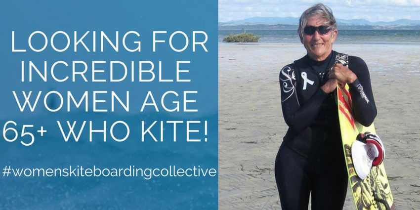 PROJECT 65+: 14 women aged 65-76 living life to the full & kiteboarding