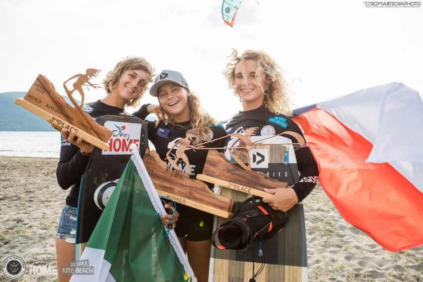 World Kiteboarding Championship First Event in Akyaka, Turkey